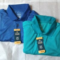 Pair (2) Members Mark LUXE Polos Size M NWT