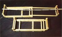 "Beading Loom Handmade Wood Expandable 24 - 42"" x 100 Bead Rows John Lotter Style"