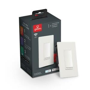 Globe Electric Wi-Fi Smart Dimmer Switch, No Hub Required, Voice Activated