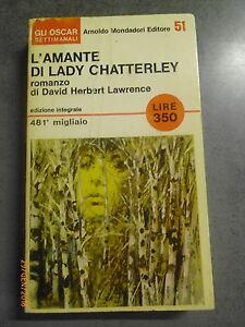 D.H. LAWRENCE - L'AMANTE DI LADY CHATTERLEY - MONDADORI - OFFERTA!