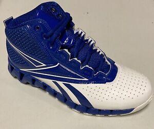 NIB Reebok Zig Pro Future Women's Basketball Shoes Royal Blue Wht Free Shipping