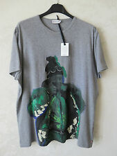 MONCLER T-SHIRT HAND PAINTED DIPINTA A MANO ORIGINALE MADE IN ITALY