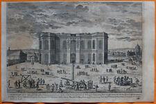 VAN DER AA Gravure originale c1725 L'OBSERVATOIRE Paris Astronomie Physique