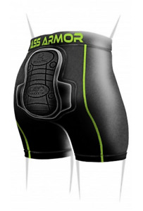 Protection Ass Armor Compression Safety Gear Short With Padding For Impact Snow