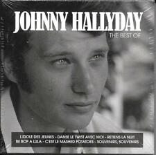 COFFRET 5 CD CARDSLEEVE 100 TITRES JOHNNY HALLYDAY BEST OF 2017 NEUF SCELLE