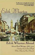 Edith Wharton's Travel Writing: The Making of a Connoisseur, New,  Book