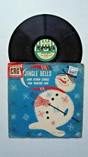 """Crg 718 Jingle Bells And Other Songs For Winter Fun 33 1/3 Rpm 10"""""""