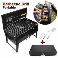 BBQ Barbecue Grill Portable Folding Charcoal Camping Graden Outdoor Travel