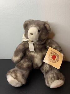 NWT Hallmark Heartline Sterling Hug Teddy Bear Stuffed Animal 1989 1990 Vintage