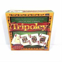 Tripoley The Game of Michigan Rummy Hearts & Poker Deluxe Mat Version - Ideal