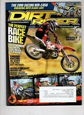 Dirt Rider Motocross  Magazine July 2010 Husaberg FE390  KTM 300 XC-W
