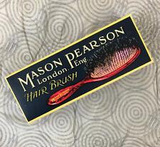 NEW Mason Pearson Handy Mixture Bristle & Nylon Brush