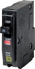 Square D  QO  Single Pole  30 amps Circuit Breaker, QO130CP