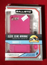 Ballistic LS Lifestyle Smooth TPU Case for iPhone SE/5s/5 w/Bumpers - Hot Pink