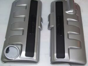 VZ Commodore SS Z Calais V8 6.0L ENGINE COVERS LEFT AND RIGHT L76 GM GENUINE NEW