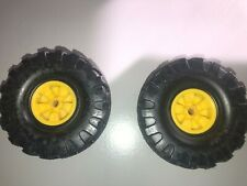 Mighty Tonka tires & wheels--smooth blackwall--1968 to 1971--one pair