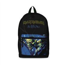 "IRON MAIDEN ""FEAR"" ""Rocksax"" Backpack Rucksack Bag Logo - New"