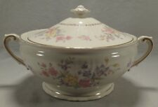 Syracuse China Briarcliff Covered Casserole Vegetable Serving Bowl Dish Handled