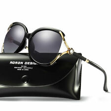 Women's Designer Polarized UV400 Sunglasses Lady Oversized Driving Eyewear Glass