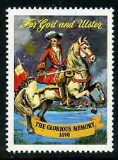 BATTLE OF THE BOYNE 1690 OLD STAMP KING WILLIAM III ULSTER IRELAND ORANGE ORDER
