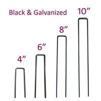 MTB 11GA Sod Staples Garden Pin Netting Stakes Ground Spikes Landscape Cover Peg