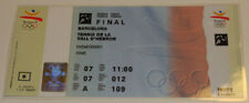 Old ticket Olympic Barcelona 1992 Tennis FINAL double Becker Stich Capriatti Gra
