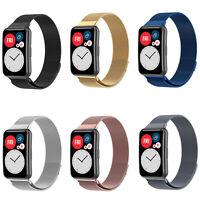 Mesh Milanese Watch Wrist Strap Band für Huawei Watch Fit Watch Smart Bracelet