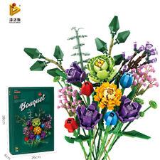 Neu Baukästen Blumen  Blumenstrauß Dekoration Spielze Geschenk OVP
