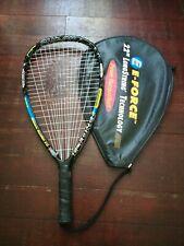 "E Force Shock 22"" Power Longbody Racquetball Racquet Blue Exercise Tri Tear"