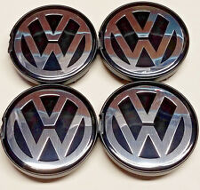 4X NEW VW VOLKSWAGEN WHEEL RIM CENTER HUB CAPS FIT BEETLE JETTA CABRIO GOLF 55MM