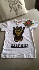 * * * BABY MILO * * * NEUF Tee-shirt sequins 6 ans