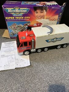 Micro Machines 1998 Super Truck City Otto's Trucking Playset BOXED!