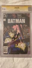Batman 406 CGC 9.6 Signed by Frank Miller