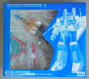 TRANSFORMERS G1 Takara E-HOBBY reissue MIB UnusedParts 22 STARSCREAM GHOST Japan