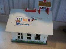 vintage (1971) Fisher Price School House-good