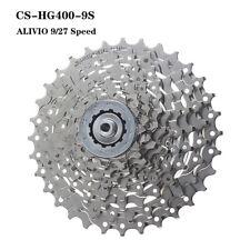 Shimano CS-HG400 Alivio 9/27Speed MTB Cassette Freewheel 11-32T/34T/36T