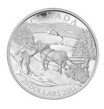 2011 /'Winter Scene/' Proof $20 Sterling Silver 12770