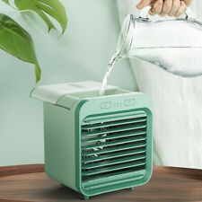 Portable Air Conditioner Cooler USB Fan Humidifier Air Cooling Cool Water-cooled