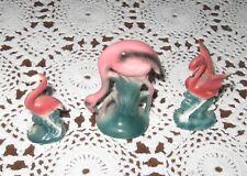 Lefton Flamingo Figurines (3)