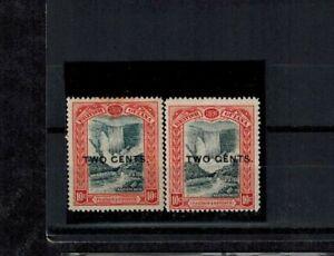 British Guiana 1899 Provisional 2C on 10c MOG VF SG. 223,223b CV L65+
