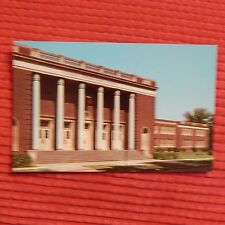 Vintage Postcard E.E. Bass Junior High School, Greenville, Mississippi