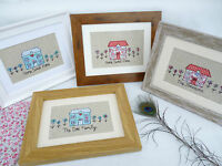 New House Cottage Framed Picture choice of colour, frame & personalisation Gift