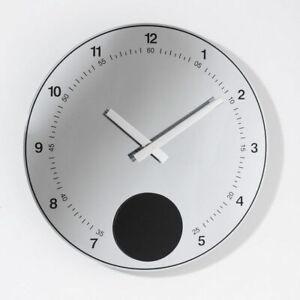 Moderne ATLANTA DESIGN Quarz Wanduhr mit Pendel 4412/19