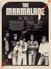 Marmalade LP advert Time Out clipping 1971/2