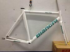 track frame&fork Bianchi Super Pista Satin White 61cm