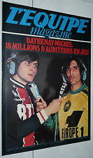 L'EQUIPE MAGAZINE N°4 1980 FOOTBALL MIMOUN CATCH ENDURO TOUQUET RUGBY AGUIRRE