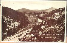 Vintage Postcard FAR-OFF HILLS IRELAND The Scalp Wicklow Valentine Eva Brennan