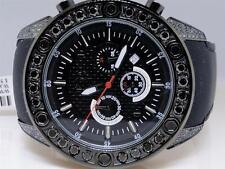 Mens Techno Com KC Joe Rodeo Master Genuine Black WWBL Diamond Watch 5.5 Ct