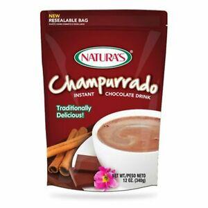 Natura's Champurrado Instant Chocolate Drink 12 Oz