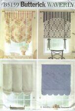 Butterick 5159 Window Treatments Sewing Pattern